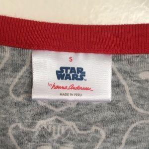 Hanna Andersson Tops - HANNA ANDERSSON Star Wars Pajama Top Shirt Women S